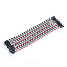 New 40Pcs 20cm Durable Male to Female Wire Jumper Cable for Arduino Breadboard