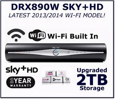 SKY PLUS HD BOX DRX890W WIFI BUILT IN 2TB Slim Sky HD+ box 2TB HDD & WARRANTY