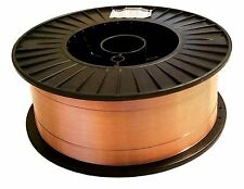 "40 Lb Roll ER70S-6 .035"" Mild Steel MIG Welding Wire Layer Wound"