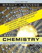 Chemistry, Binder Ready Version: The Study of Matter and Its Changes