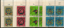 SWITZERLAND:1980 Pro Patria set  SG991-4  fine used blocks of four