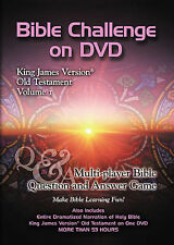 Bible Challenge on DVD: King James Version Old Testament, Vol. 1 by