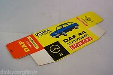 LION CAR DAF 44 STATION CAR WAGON ESTATE EMPTY BOX ORIGINAL UNUSED NEW RARE!!!