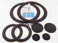 EPI A1200 Complete Woofer & Mid Refoam Kit - Speaker Foam Repair w/ Dust Caps!