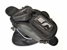 Waterproof Universal Magnetic Motorcycle Motorbike Oil Fuel Tank Bag Black