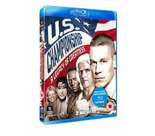 "Official WWE - US Championship ""A Legacy Of Greatness"" 2 Disc Blu Ray Set"