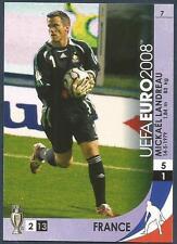 PANINI UEFA EURO 2008 TRADING CARD- #007-FRANCE-MICKAEL LANDREAU
