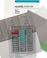 Nortel Norstar Meridian Telephone M7208 Buttons Set Plastic Labels User Guide