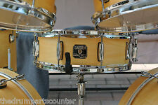 """GRETSCH CATALINA CLUB 14"""" SNARE in SATIN NATURAL for DRUM SET LOT #G894"""