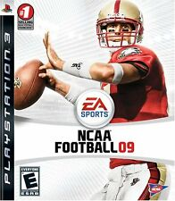 NCAA Football 09 2009 Video Game For SONY PlayStation 3 PS3 Console System