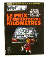 L'Auto-journal n°1-1981-CITROEN 2 VC 6 CHARLESTON-PEUGEOT 305-LANCIA-BENTLEY-