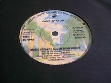 Candi Staton,Music Speaks Louder Than Words/A Dreamer Of Dreams (WB 1977) Ex