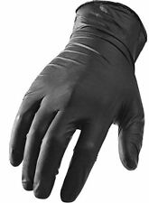 10 PAIRS OF EXTRA X-LARGE BLACK PANTHERA LATEX TATTOO GLOVES