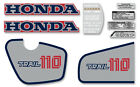 1983 Honda CT110 Trail - 9 pc. decal set