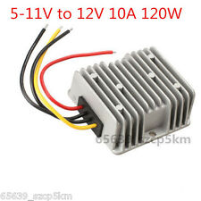 Voltage Booster Power DC Converter Regulator 5V(5-11V) Step up to 12V 10A 120W