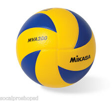 MIKASA MVA200 VOLLEYBALL BEIJING LONDON RIO OLYMPICS OFFICIAL BALL BRAND NEW!