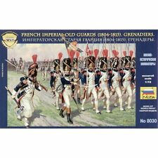 ZVEZDA 8030 FRENCH IMPERIAL OLD GUARDS 1804-1815 GRENADIERS 1/72 NEW