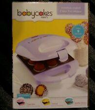 New Babycakes Mini Cake Pop Maker Lilac Dessert Bites Cupcake Doughnut Holes
