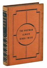 The Postman Always Rings Twice ~ JAMES M. CAIN ~ First Edition ~ 1st Print 1934