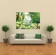 KIDS CHILDREN CARTOON DINOSAURS NEW GIANT POSTER WALL ART PRINT PICTURE G554