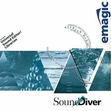 Emagic soundiver sounddiver 3.05 Synth Sintetizador editor de PC