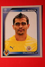 PANINI CHAMPIONS LEAGUE 2008/09 # 529 VILLAREAL CF IBAGAZA BLACK BACK MINT!