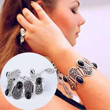 Boho Silver Charms Tassel Gypsy Holiday Turkish Tribal Ethnic Bracelet New Trend
