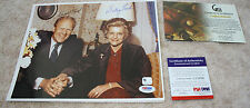 ORIGINAL SIGNED US PRESIDENT GERALD R FORD AND BETTY FORD - 8 X 10 - PSA/DNA GAI