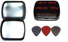3 Dunlop Max Grip Jazz III Guitar Picks 1 Of Each Type In A Handy Pick Tin