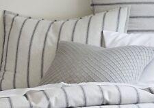 x2 Flannel Stripe Standard Shams from West Elm/Pottery Barn