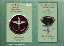 Royale Military Car Grill Badge - 3RD BATTALION THE PARACHUTE REGIMENT - B2.3620
