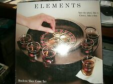 #8  ROULETTE SHOT GLASS GAME MINT NEW ELEMENTS SHOT GAME SET