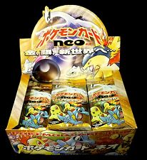 Pokemon Japanese Neo Genesis 2X Booster Pack Lot New from 2002