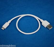 30cm Data Charger USB cable WHITE 4 iPhone 6s 6 Plus 5s iPad Pro Air 2 4 mini 3