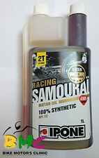 Flexible Oil funnel Ipone Samurai Somourai Racing Synthetic 100% 2T Engine Oil