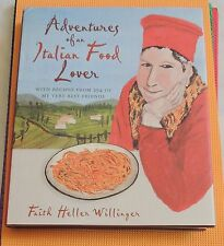 ITALIAN COOKBOOK HARDBACK Adventures of an Italian Food Lover authentic recipes
