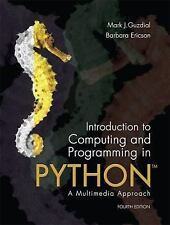 New-Introduction to Computing & Programming in Python by by Guzdial 4ed INTL ED