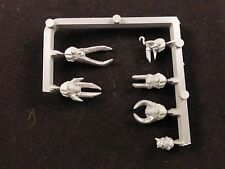 40K Chaos Space Marines : Terminators Squad Set of Heads (6)