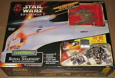 Star Wars Hasbro TPM The Phantom Menace NABOO ROYAL STARSHIP Figure/Vehicle MISB