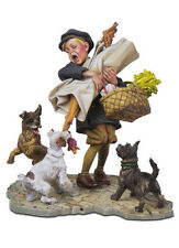 ANDREA MINIATURES WY-10 - UNWELCOME DINERS - 54mm WHITE METAL