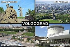 SOUVENIR FRIDGE MAGNET of VOLGOGRAD RUSSIA