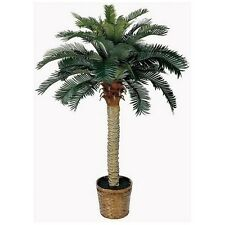 Silk Palm Tree Sago Tropical Artificial Plant Decor Home Indoor Outdoor Garden