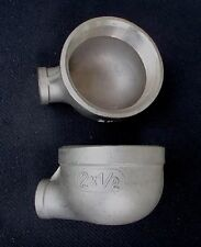 """STAINLESS STEEL ELBOW 90 REDUCER 2"""" - 1/2"""" NPT PIPE RE-200-050"""