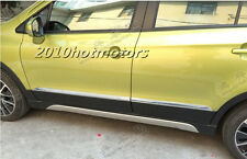 Chromed ABS Plastic Side Door Molding Trim Cover For 2014 Suzuki SX4 S-Cross