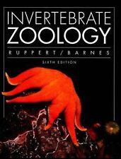 Invertebrate Zoology, Edward E. Ruppert, Robert D. Barnes, Good Book