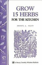 Grow 15 Herbs for the Kitchen~DIY How-to~NEW!
