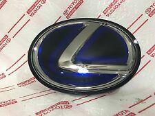 *NEW LEXUS RX450H HYBRID GRILL EMBLEM OEM BLUE FRONT GRILLE RX350 ES300H ES350