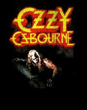 OZZY OSBOURNE cd cvr BARK AT THE MOON Official SHIRT LRG New black sabbath