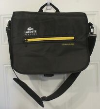 Lacoste Parfums Challenge Messenger Bag Shoulder Strap Travel School Backpack