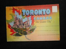 Toronto, Canada - Collection of Vintage Colour Postcards10 x Double Sided c1950